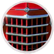 1950 Willys Jeepster Gtille Round Beach Towel