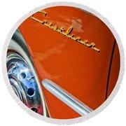 1951 Ford Crestliner Emblem - Wheel Round Beach Towel