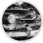 1951 Mercury Coupe - American Graffiti Round Beach Towel