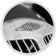 1952 Frazer-nash Le Mans Replica Mkii Competition Model Grille Emblem Round Beach Towel