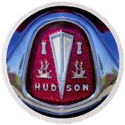 1953 Hudson Hornet Emblem 2 Round Beach Towel