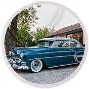 1954 Chevrolet Bel Air Round Beach Towel