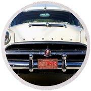 1954 Hudson Hornet Round Beach Towel
