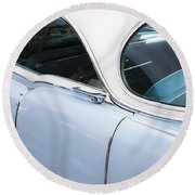 1956 Cadilac Sedan De Ville Round Beach Towel
