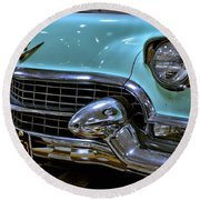 1956 Cadillac Lasalle Round Beach Towel