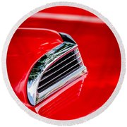 1956 Ford Thunderbird Hood Scoop -287c Round Beach Towel