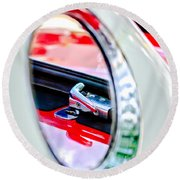 1956 Ford Thunderbird Latch -417c Round Beach Towel