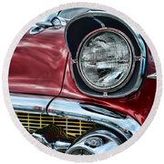 1957 Chevy - My Classic Car Round Beach Towel