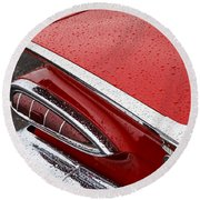 1959 Chevrolet Round Beach Towel