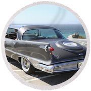 1959 Imperial Crown Round Beach Towel