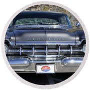 1959 Imperial Crown Coupe  Round Beach Towel