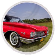 1960 Buick Electra 225 Round Beach Towel