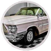 1960 Chrysler Windsor Round Beach Towel