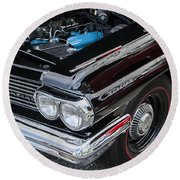 1961 Pontiac Catalina 421 Round Beach Towel
