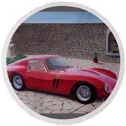1962 Ferrari 250 Gto Round Beach Towel