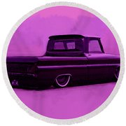 1964 Chevy Low Rider Round Beach Towel