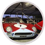1964 Ferrari 250 Lm Round Beach Towel