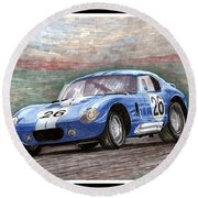 1964 Shelby Daytona Round Beach Towel