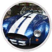 1965 Cobra Shelby Round Beach Towel