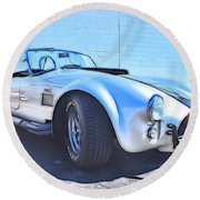 1965 Shelby Cobra - 5 Round Beach Towel