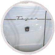 1965 Sunbeam Tiger 260 V8  Round Beach Towel