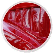 1966 Ford Mustang Gt Side Scoops -032c Round Beach Towel