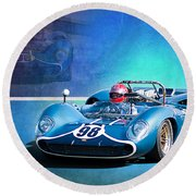 1966 Lola T70 Round Beach Towel