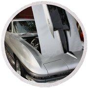 1967 Chevy Corvette Round Beach Towel