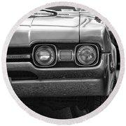 1967 Oldsmobile 442 Round Beach Towel
