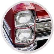 1968 Cadillac Deville You Looking At Me Round Beach Towel