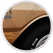 1968 Dodge Dart Gts 383 Four Barrel Round Beach Towel