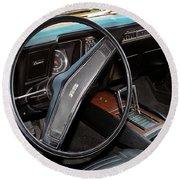 1969 Chevrolet Camaro Rs - Orange - Interior - 7601 Round Beach Towel