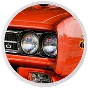 1969 Pontiac Gto The Judge Round Beach Towel