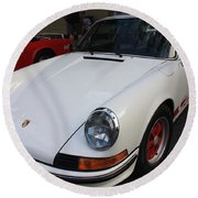1973 Porsche Round Beach Towel