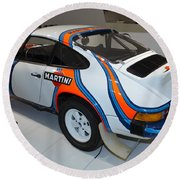 1978 Porsche 911 Sc Round Beach Towel