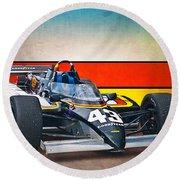 1983 Lola T700 Indy Car Round Beach Towel