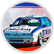 1987 Vl Commodore Group A Round Beach Towel