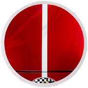 1999 Shelby Cobra Round Beach Towel