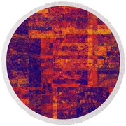0171 Abstract Thought Round Beach Towel