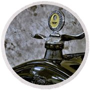 1926 Ford Model T Radiator Ornament Round Beach Towel