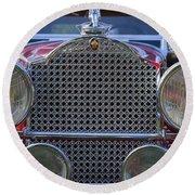 1930 Packard Model 734 Speedster Runabout Round Beach Towel
