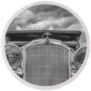 1934 Vauxhall Round Beach Towel