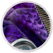 1937 Ford Oze Round Beach Towel