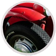 1952 Frazer-nash Le Mans Replica Mkii Competition Model Tire Emblem Round Beach Towel