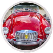1960 Mga 1600 Convertible Round Beach Towel