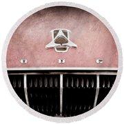 1962 Dodge Polara 500 Emblem Round Beach Towel