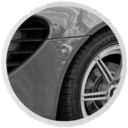 2005 Lotus Elise Wheel Emblem Round Beach Towel