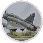 A French Air Force Mirage 2000d Taking Round Beach Towel