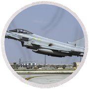 A Royal Air Forcetyphoon Fgr4 Taking Round Beach Towel