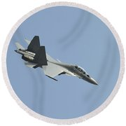 A Sukhoi Su-30mkm Of The Royal Round Beach Towel